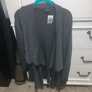 Grey sparkle sweater